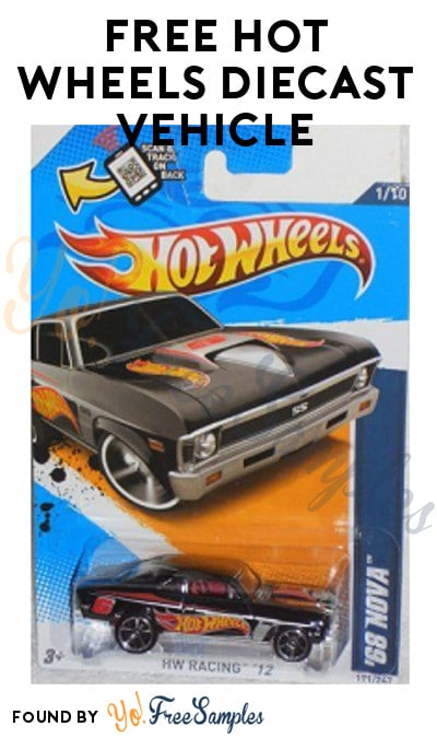 TODAY (11/30) ONLY: FREE Hot Wheels Diecast Vehicle (Select Meijer mPerks Users)