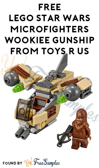 ENDS TODAY: FREE LEGO Star Wars Microfighters Wookiee Gunship From Toys R Us After Cashback (New TopCashBack Members Only)