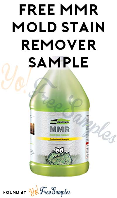 FREE MMR Mold Stain Remover Sample