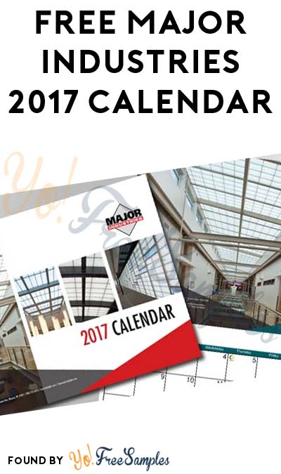 FREE Major Industries 2017 Calendar (Email Required)