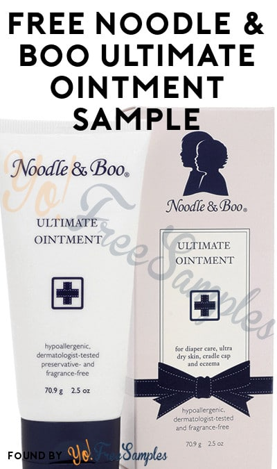 FREE Noodle & Boo Ultimate Ointment Sample