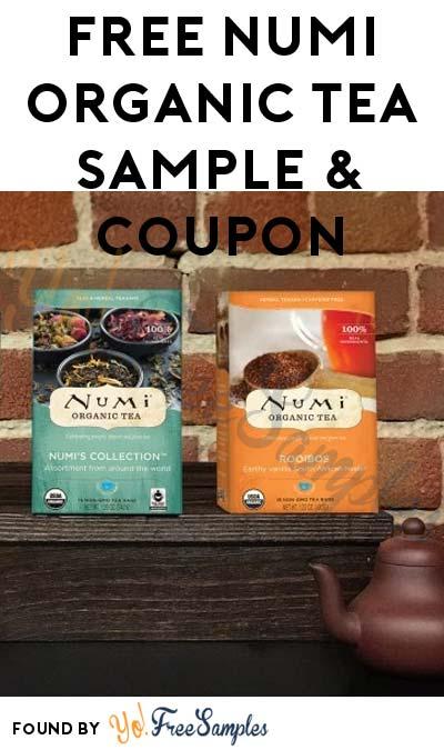 FREE Numi Organic Tea Sample & Coupon