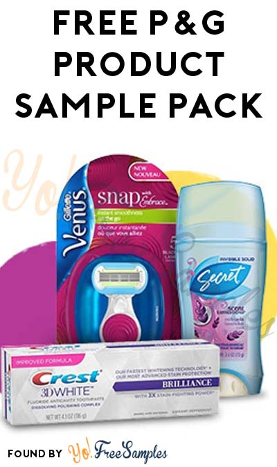 FREE P&G Product Sample Pack (Spanish Translation & Email Confirmation Required)