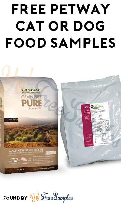 FREE PetWay Cat or Dog Food Samples (NC & VA Only)