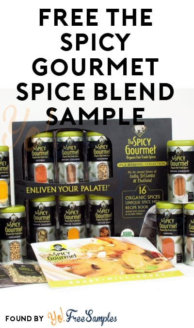 FREE The Spicy Gourmet Spice Blend Sample (Email Required)