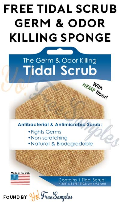 FREE Tidal Scrub Germ & Odor Killing Sponge(s) For Referring Friends