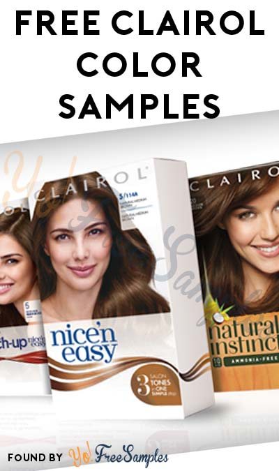 Possible FREE Clairol Nice'n Easy, Natural Instincts or Root Touch-Up From BzzAgent