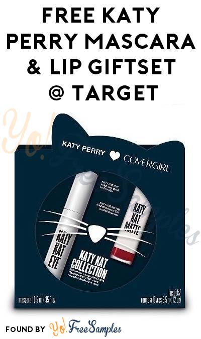 Possible FREE Katy Perry COVERGIRL Katy Kat Collection Mascara & Lip Holiday Giftset At Target