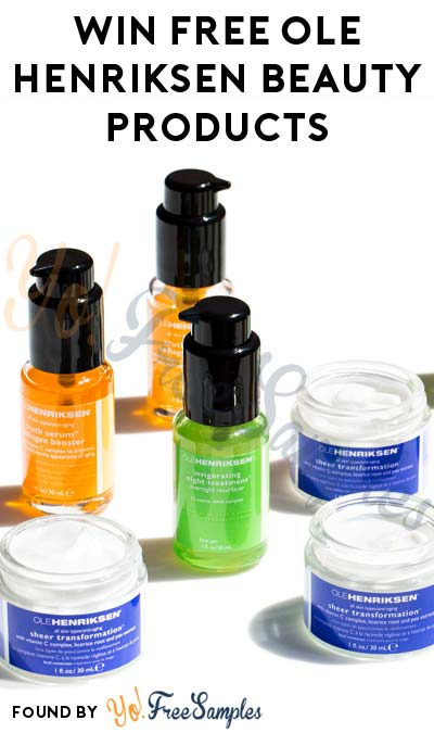 ENDS TODAY: Win FREE Ole Henriksen Beauty Products (Instagram Required)