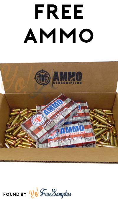 FREE Ammo From AmmoSubscription.com For Referring Friends (Email Confirmation Required)