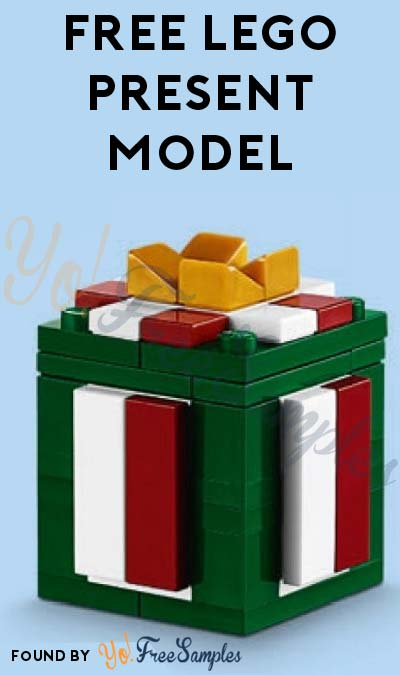 Registration Open: FREE LEGO Present Model From Mini Model Build Event December 6th & 7th 2016