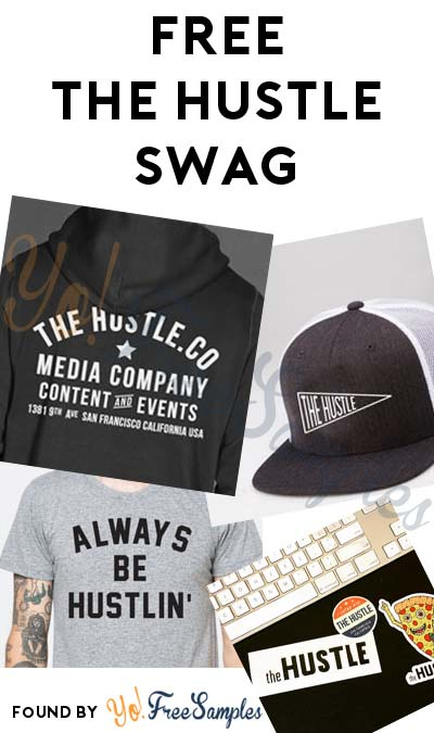 FREE The Hustle Hoodie, T-Shirt, Stickers, Yeti Case, Events & Much More For Referring Friends [Verified Received By Mail]