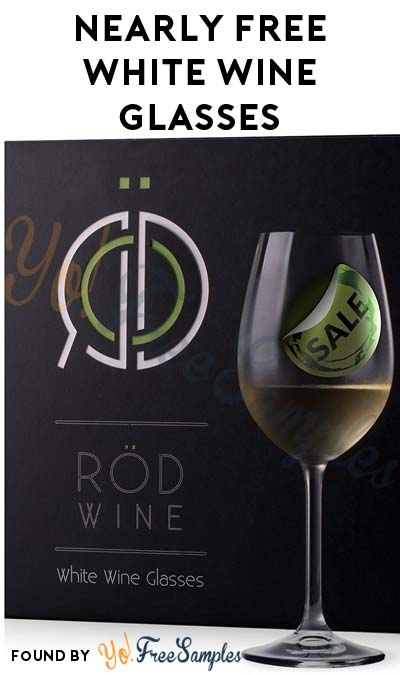 3 Nearly FREE RÖD White Wine Glasses On Amazon (Free Shipping With Prime) [Verified Received By Mail]