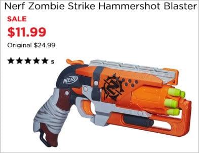 Zombie Nerf Gun Kohls