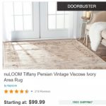 Today (11/14/2016) – Best Under $100 Area Rugs at Overstock [EXPIRED]