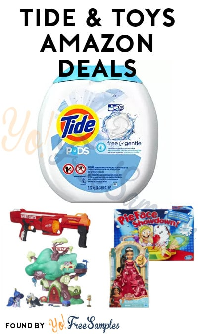 DEAL ALERT: Tide & Toys Deals On Amazon For Cyber Monday