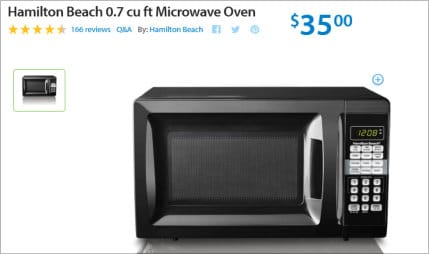 early black friday 2016 deals - microwave oven