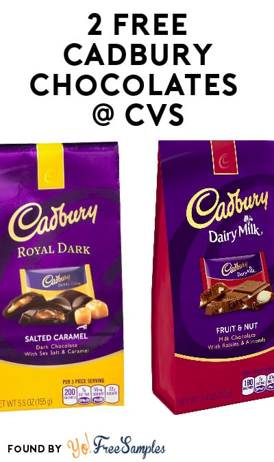 2 FREE Cadbury Premium Pouches At CVS (Coupon & Checkout51 Required)