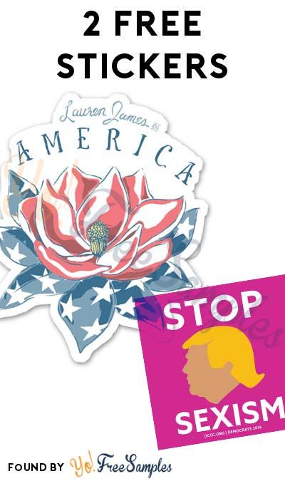 2 FREE Stickers Today: Stop Sexism Sticker & Lauren James Sticker