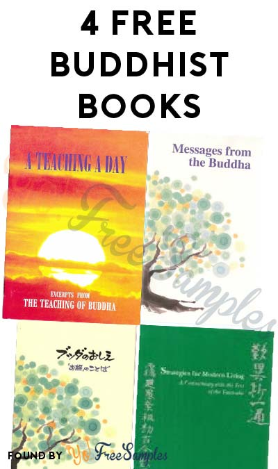 4 FREE Buddhist Books [Verified Received By Mail]