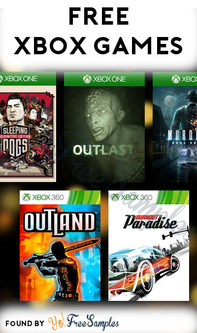 FREE Xbox One or Xbox 360 Games (Live Gold Required)