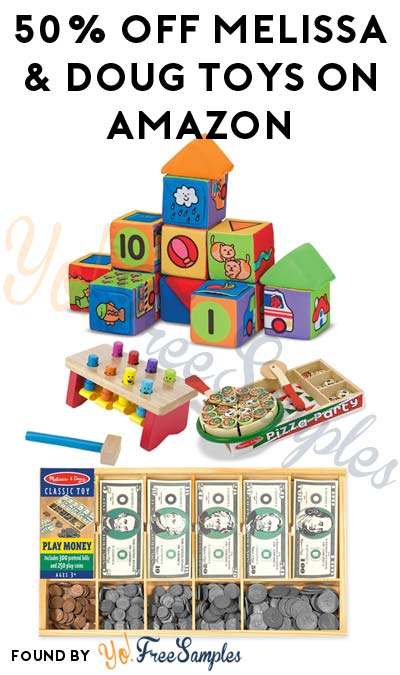 TODAY ONLY DEAL ALERT: 50% Off Melissa & Doug Toys On Amazon Today (12/8)