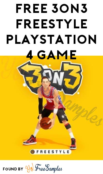 FREE 3on3 FreeStyle Playstation 4 Game