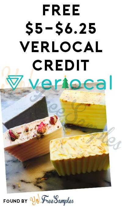 FREE $5-$6.25 VerLocal Credit