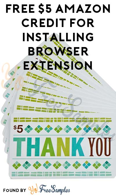 FREE $3 Amazon Credit For Installing Browser Extension