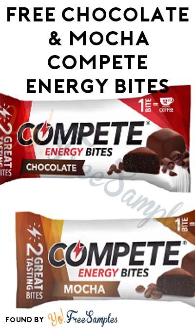FREE Chocolate & Mocha COMPETE Energy Bites