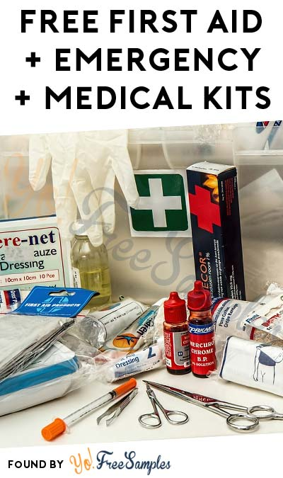 16 FREE First Aid, Emergency & Medical Kits (Some Only In Select Regions)