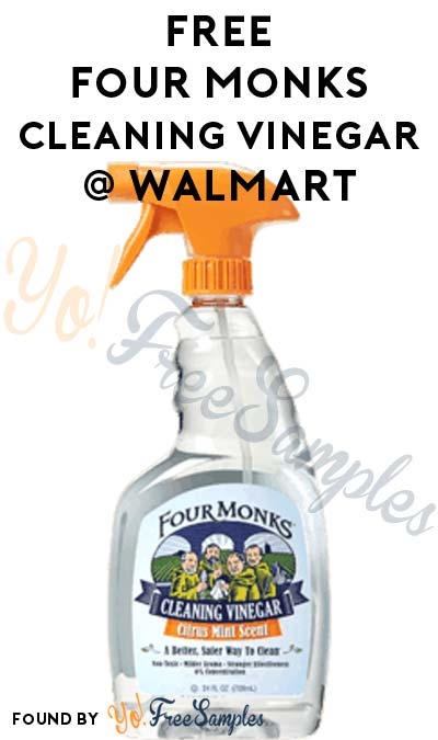 FREE Four Monks Cleaning Vinegar 24 oz At Walmart (Coupon, Ibotta & Checkout51 Required)