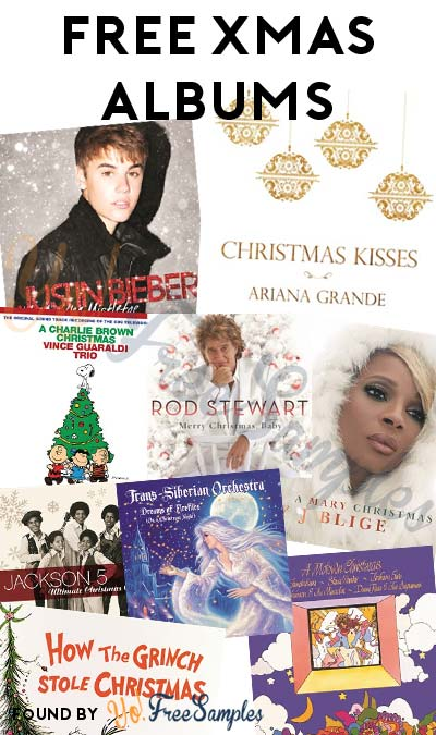 FREE Jackson 5, Ariana Grande, Justin Bieber, Mary J Blige & Other Christmas Albums From Microsoft Store