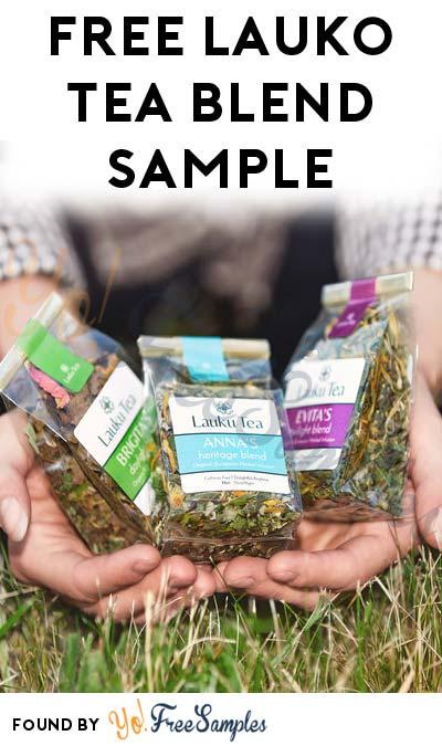 FREE Lauko Tea Blend Sample (Facebook Photo Upload Required)