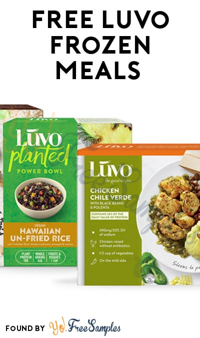 FREE Luvo Frozen Meals (Mom Ambassador Membership Required)