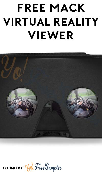 FREE Mack Virtual Reality Cardboard Viewer (Company Name Required)