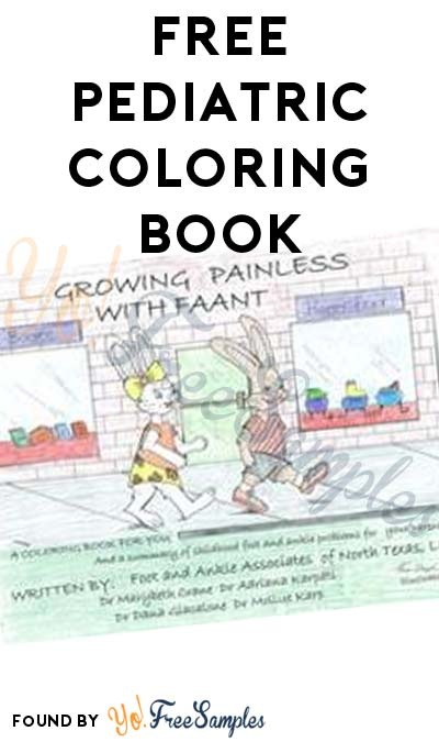 FREE Pediatric Coloring Book