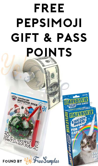 ENDS TODAY: FREE PepsiMoji Gift & Pass Points (Facebook Required)