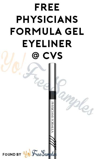 FREE Physicians Formula Gel Eyeliner At CVS