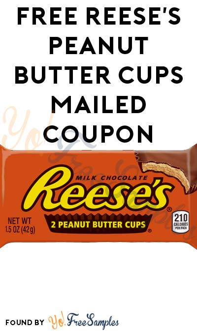 FREE Reese's Peanut Butter Cups Mailed Coupon (First 500 x 4 Times A Day Through 1/2)