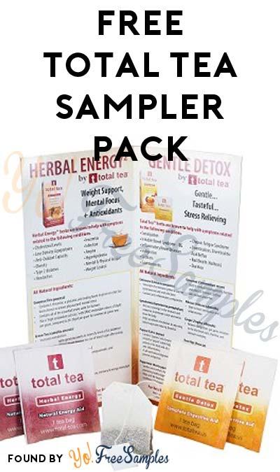 FREE Total Tea Sampler Pack