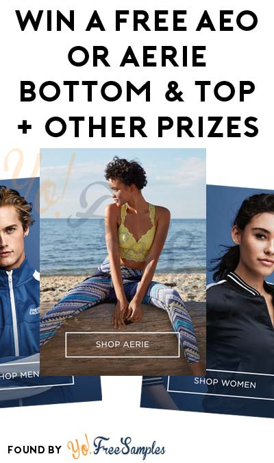 LIVE AT 1PM EST: Win A FREE AEO or Aerie Bottom & Top + Other Prizes (Mobile Number Required)