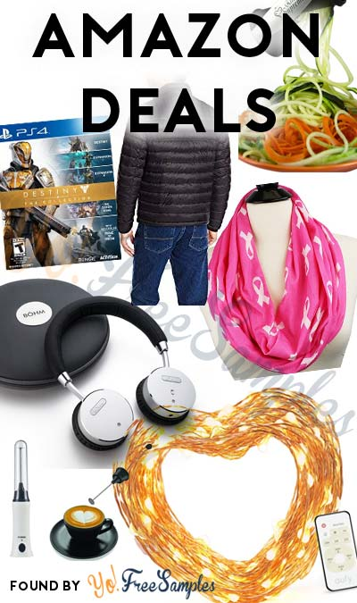 DEALS ALERT: Coffee Frother, Noise Cancelling Headphones, Family Winter Clothing & More On Amazon Today (12/13)