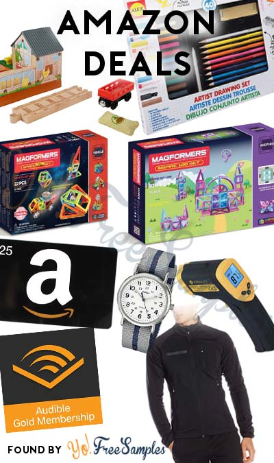 DEALS ALERT: Toys, Men's Coat, Timex Men's Watch, Laser Thermometer & FREE $25 Amazon Credit On Amazon Today (12/17)