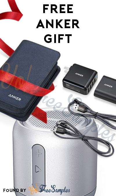 FREE Anker Gift or 5% Discount (Facebook or Google Login Required)