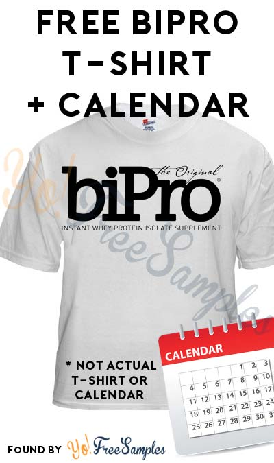 FREE BiPro T-Shirt & Limited Edition 2017 Athlete Calendar