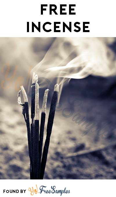 Possible FREE Incense Sticks From Incense Zen
