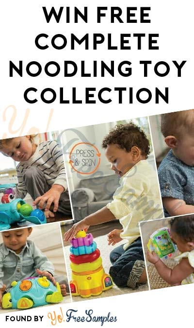Win FREE Complete Noodling Toy Collection (Facebook Required / Must Apply)