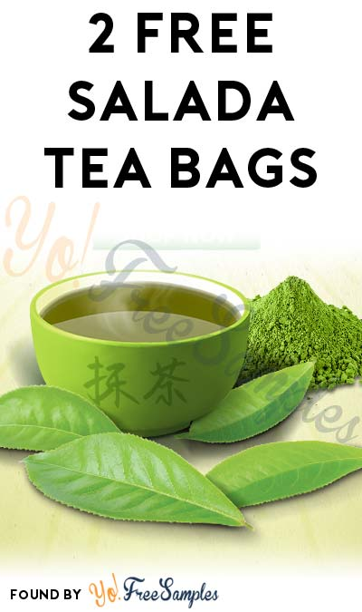 2 FREE Salada Tea Bags