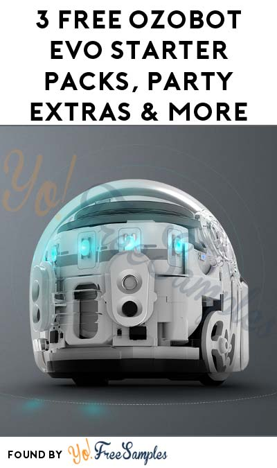 3 FREE Ozobot Evo Starter Packs, Party Extras & More (Must Apply To Host Tryazon Party)